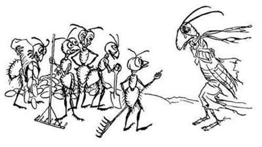 fichier la fourmi et la cigale illustration arthur